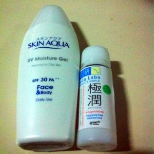 SkinAqua UV protection